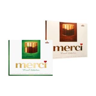 Saldainių rinkiniams MERCI, 250 g (5 rūšys)