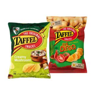 Bulvių traškučiai TAFFEL, 150 g