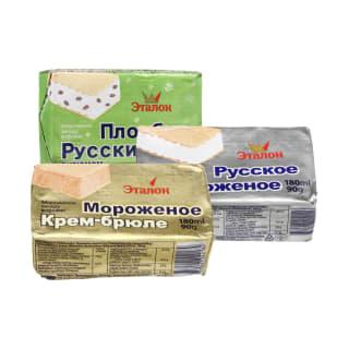 Ledams ETALON, 180 ml (3 rūšys)