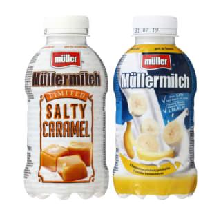 Pieno gėrimas MÜLLER MILCH, 400 g (3 rūšys)