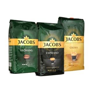 Kavos pupelėms JACOBS, 1 kg (5 rūšys)