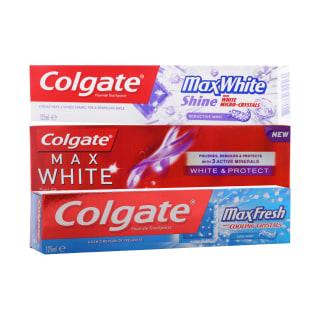 Dantų pastai COLGATE MAX