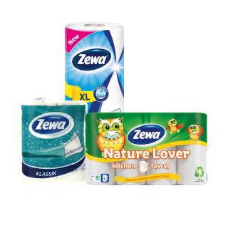 Popieriniams rankšluosčiams ZEWA