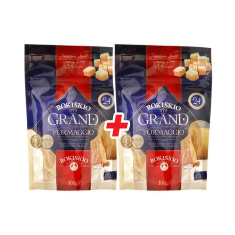 Kietasis sūris ROKIŠKIO GRAND, 24 mėn., 100 g