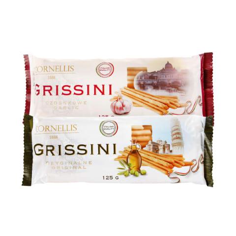 Sausainiai GRISSINI, 125 g (2 rūšys)