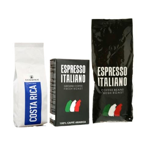 Maltai kavai ir kavos pupelėms KAVOS BANKAS ir ESPRESSO ITALIANO