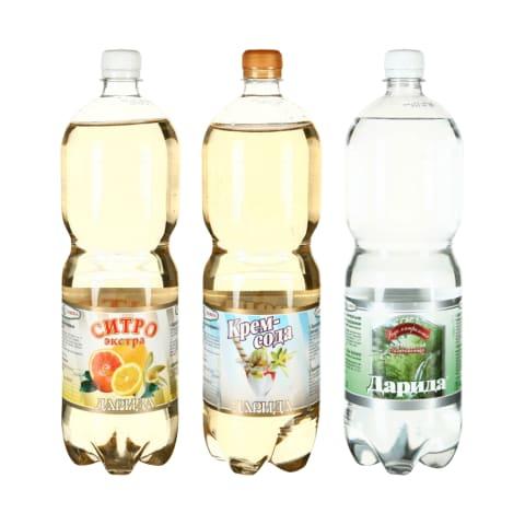 Gėrimui DARIDA, 1,5 l (5 rūšys)
