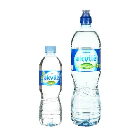 Mineraliniam vandeniui AKVILĖ, 0,5 ar 1 l (2 rūšys)