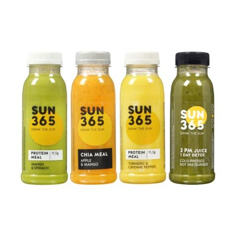 Sultims SUN365, 60 - 500 ml (17 rūšių)