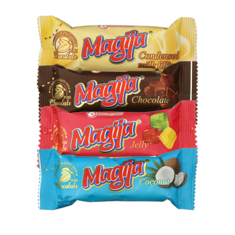 Glaistytiems varškės sūreliams MAGIJA, 45 g (8 rūšys)