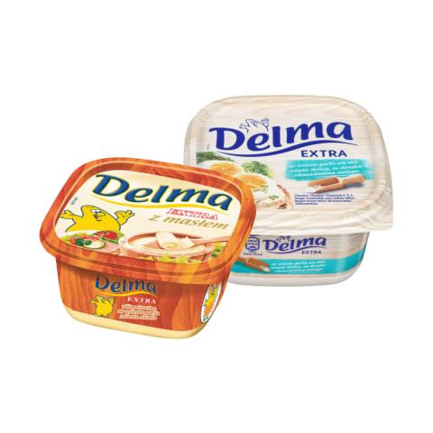 Margarinui DELMA, 250 - 500 g (5 rūšys)