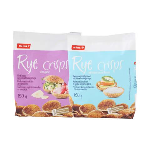 Traškiosios ruginės duonelės RIMI, 150 g (2 rūšys)