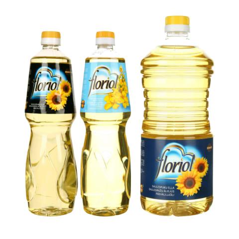 Saulėgrąžų ar rapsų aliejui FLORIOL, 1 - 2 l (3 rūšys)