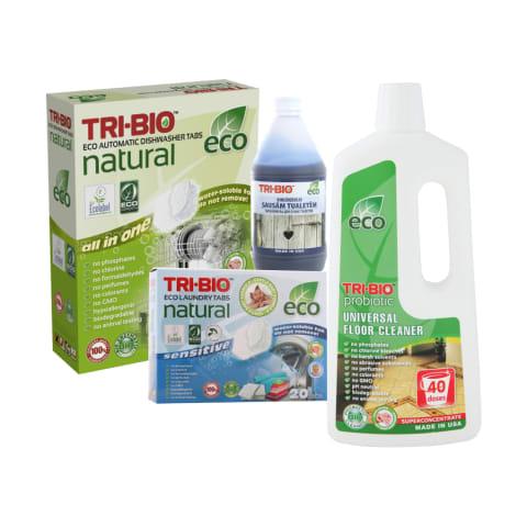 Ekologiškai buitinei chemijai TRI-BIO