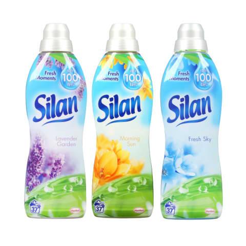 Skalbinių minkštiklis SILAN, 600 - 925 ml (13 rūšių)
