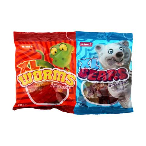 Želė saldainiai RIMI, 200 g (2 rūšys)