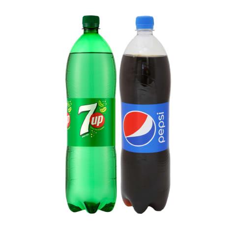 Gaivusis gėrimas PEPSI ar 7UP, 1,5 l (2 rūšys)