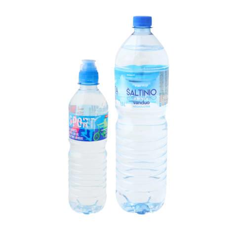 Negazuotas šaltinio vanduo RIMI, 0,75 - 1,5 l (2 rūšys)