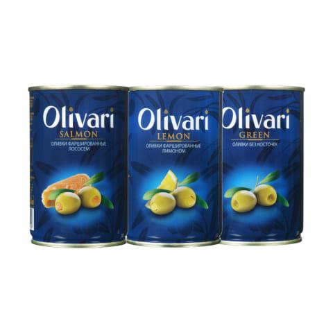 Alyvuogėms OLIVARI, 300 g (5 rūšys)