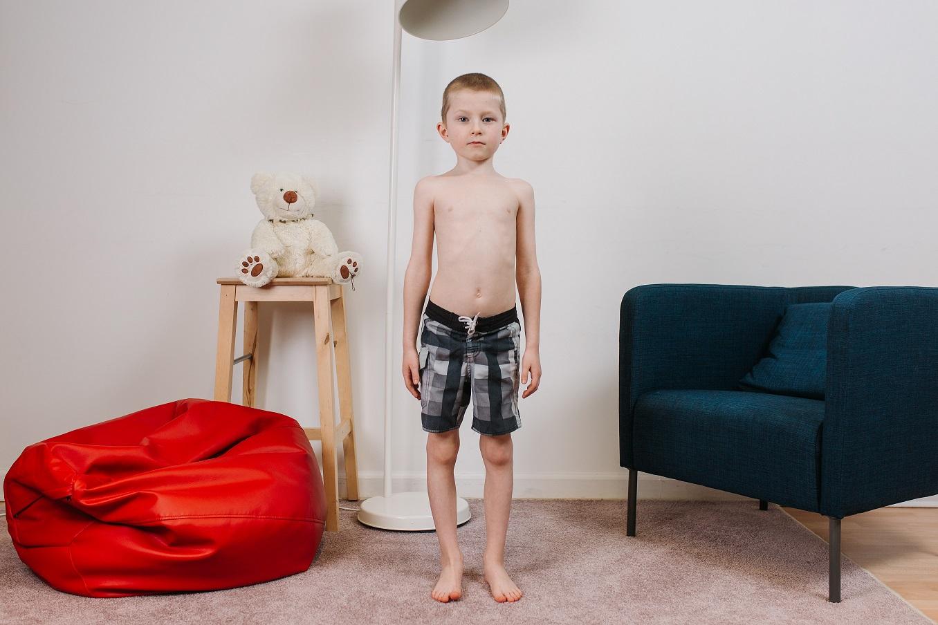 Bērna stāja