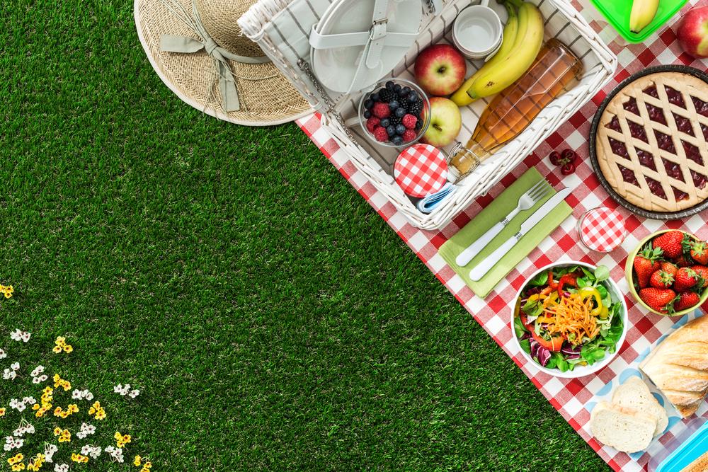 ēdieni piknikam