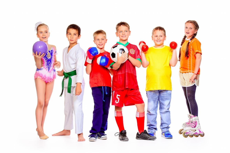 sporta pulciņi bērniem