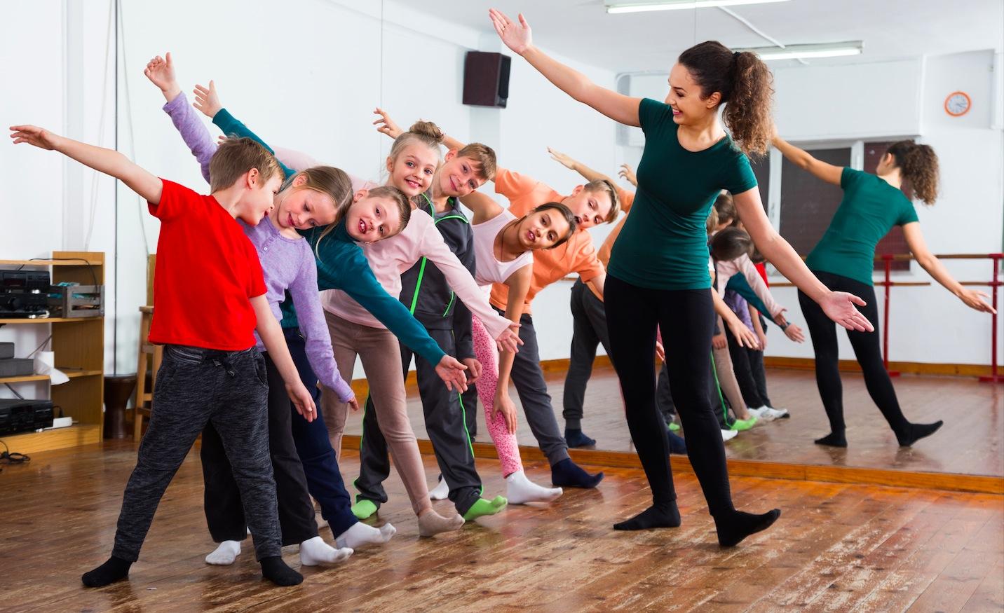 dejošana bērniem