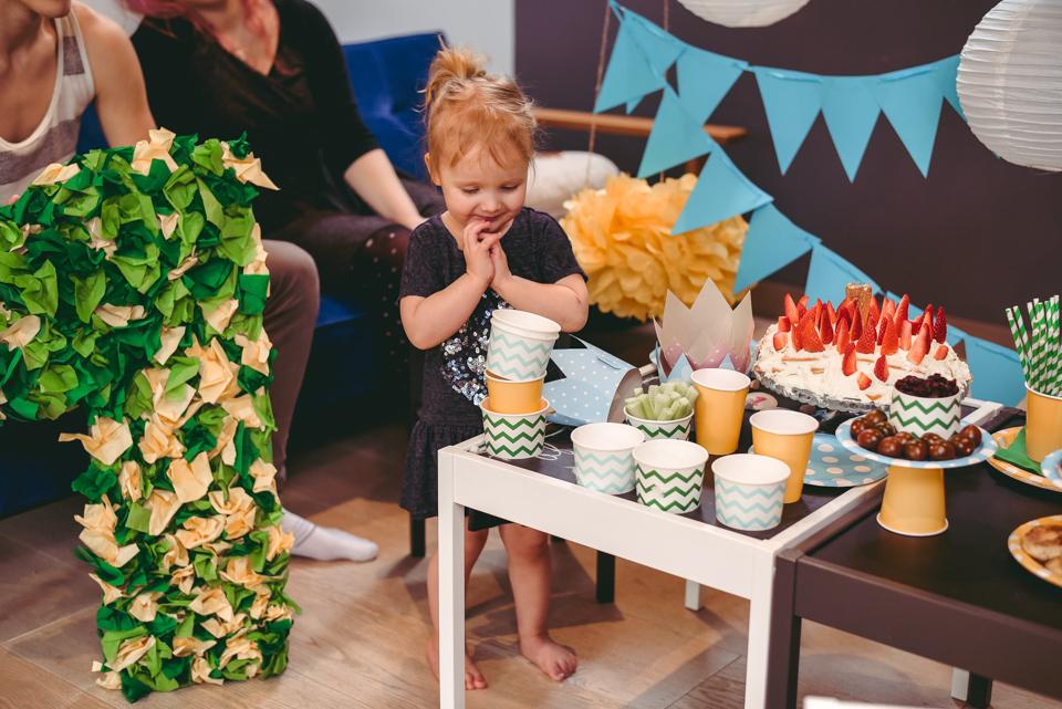 dekori bērna ballītei