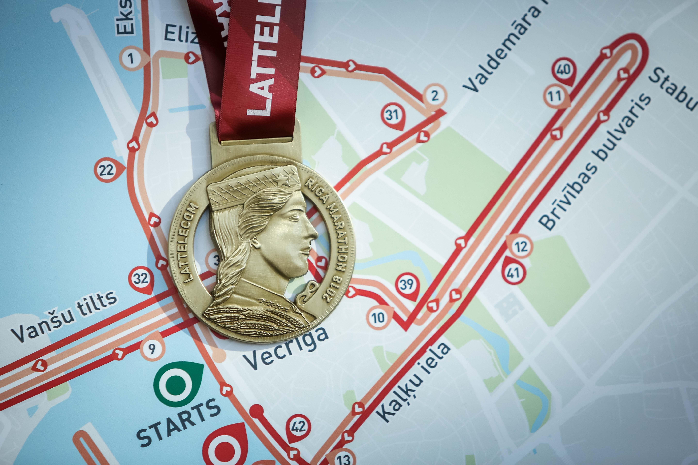 maratona 2018 medaļa